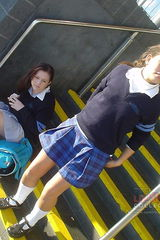 upskirt school girls